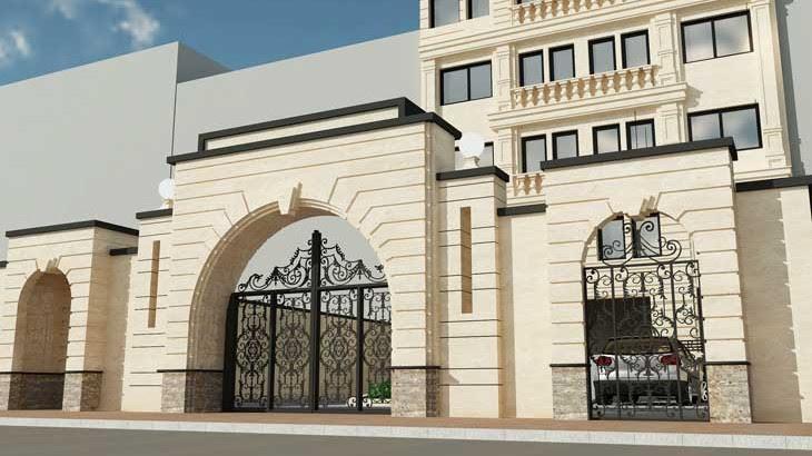 نمای سیمانی و ابزار رومی | انواع نمای ساختمان و نمای رومی با مدل های مختلف