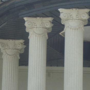 ابزار ستون سیمانی   مشاهده انواع ستون سیمانی بیرون ساختمان و نما رومی