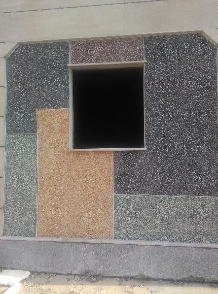 سیمان شسته رنگی | اجرا و طراحی انواع نما شسته سنگ شسته | انواع سیمان شسته و قیمت شسته