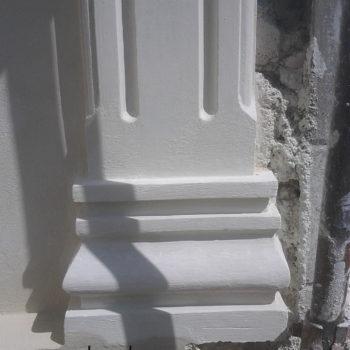 ستون دیواری | انواع ستون یکطرفه و ستون چسبیده به دیوار و ابزار ستون
