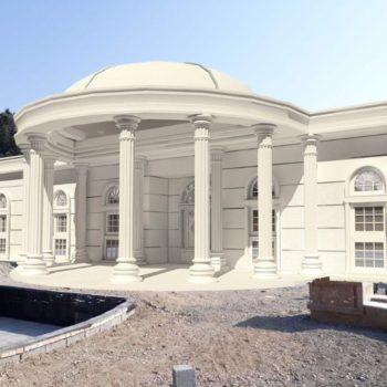 نما ویلایی   نما سیمانی و نمای ساختمان و نما رومی در سایت نما سیمانی رومی